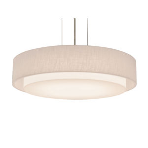Sanibel Satin Nickel 23-Inch LED Pendant