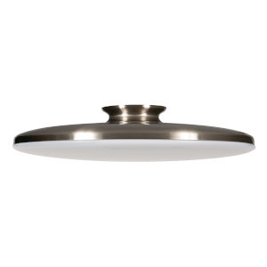 Skye Satin Nickel 19-Inch LED Flush Mount