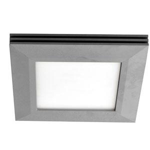 Sloane Satin Nickel 27-Inch LED Flush Mount