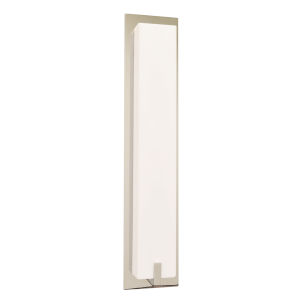 Sinclair Satin Nickel 18-Inch LED Wall Sconce