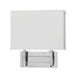 Taylor Polished Chrome Two-Light LED Wall Sconce