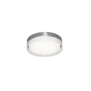 Tribeca Satin Nickel 12-Inch LED Flush Mount
