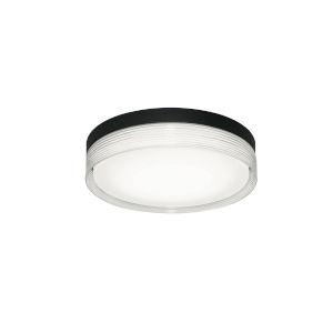 Tribeca Black 16-Inch LED Flush Mount