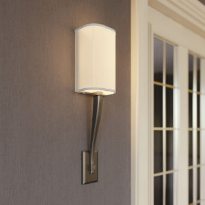 Tory Satin Nickel 23-Inch LED Wall Sconce