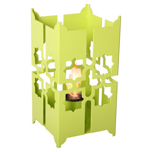 Tripoli Large Lantern in Sweet Lime