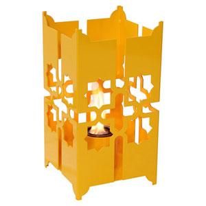 Tripoli Large Lantern in Turmeric