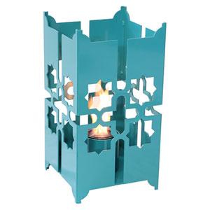 Tripoli Large Lantern in Turquoise