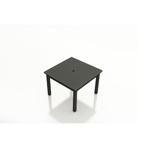 Barbados Ebony 48-Inch Square Dining Table