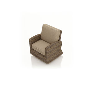 Cypress Heather Swivel Glider Club Chair