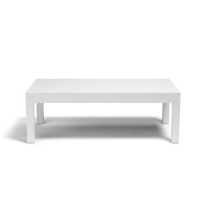 Naples Frost White Outdoor Coffee Table
