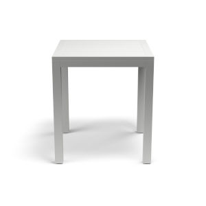 Naples Frost White Outdoor Pub Table