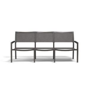Vegas Graphite Powdercoat Sling Sofa