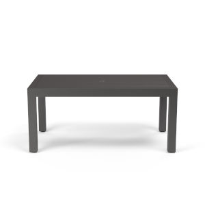 Vegas Graphite 64-Inch Outdoor Dining Table