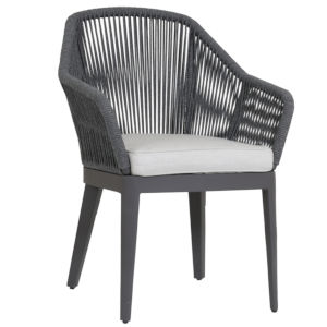 Milano Gray 26-Inch Dining Chair