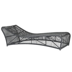 Milano Charcoal Rope Chaise