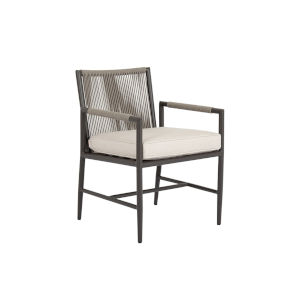 Pietra  Graphite Outdoor Dining Chair