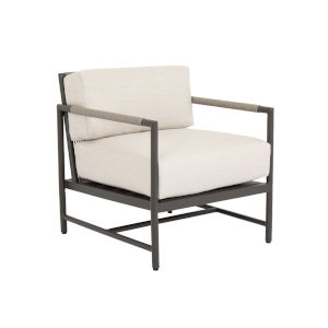 Pietra  Graphite Outdoor Club Chair