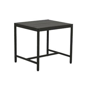 Pietra  Graphite Outdoor End Table