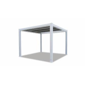 Bazaar Frost White Outdoor Pergola Table