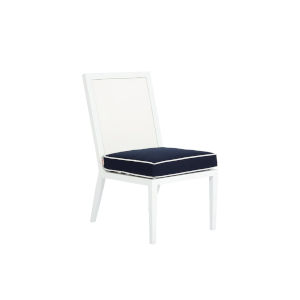 Regatta Frost White Outdoor Armless Dining Chair