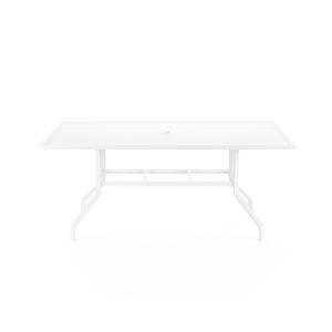 Bristol Frost Powdercoat 42-Inch Rectangular Dining Table