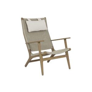Coastal Teak Coastal Teak Outdoor Highback Chair