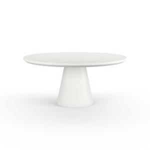 Bazaar Bone 63-Inch Pedestal Dining Table