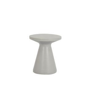 Bazaar Light Grey Outdoor End Table