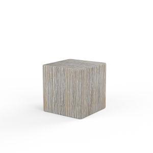 Bazaar Wood Plank End Table