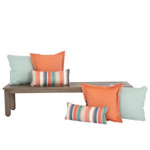 Bazaar Margarita Outdoor Pillow Pack, Set of Six