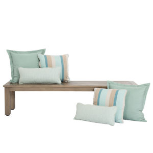 Bazaar Spa Outdoor Pillow Pack, Set of Six