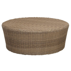 Coronado Antique Beige Round Coffee Table