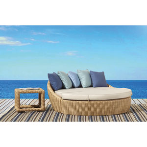Leucadia Flax Round 2 Piece Daybed