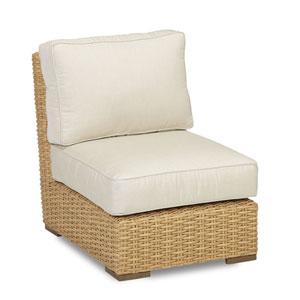 Leucadia Flax Armless Club Chair