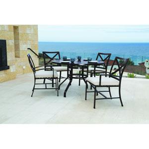 La Jolla Espresso 48-Inch Round Dining Table