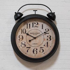 Metal Framed Wall Clock
