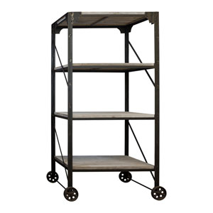 Metal 48 In. Industrial Rack