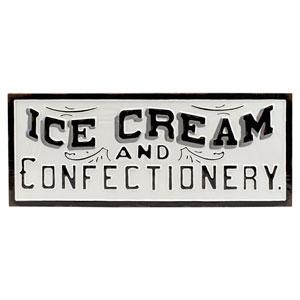 Ice Cream Metal Sign