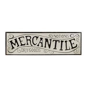 Mercantile Metal Sign