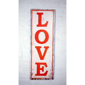 Metal 42 Love Sign