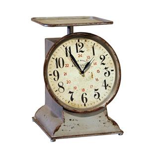 Metal Decorative Scale Clock