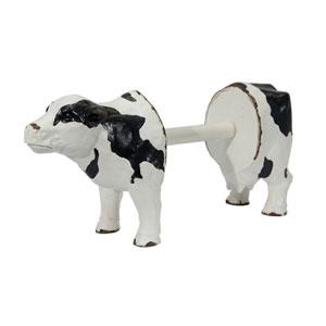 Resin Cow Paper Towel Holder