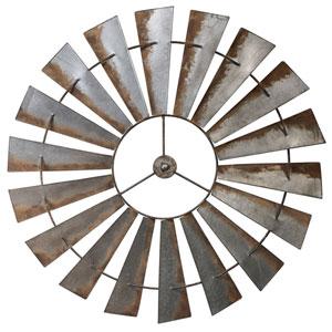 Metal 58 In. Windmill