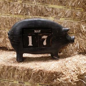 Resin Pig Calender