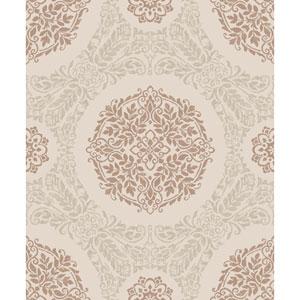 Timour Copper Wallpaper