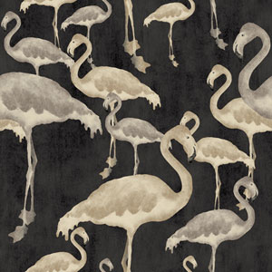 Flamingo Beach After Dark Wallpaper