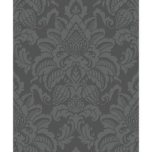 Glisten Gunmetal Wallpaper