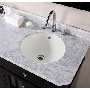 15.5-in. W X 15.5-in. D CUPC Certified Round Undermount Sink In Biscuit Color