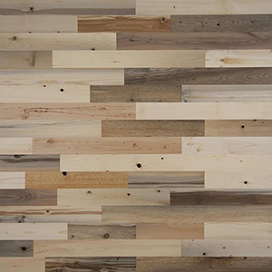 Peel and Stick Reclaimed River Wood, 3 In. Planks