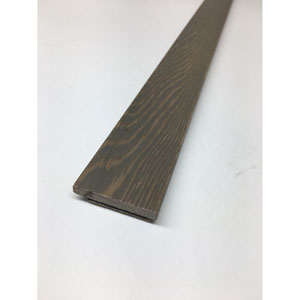 Peel and Stick Reclaimed Wood Breakwater End Cap